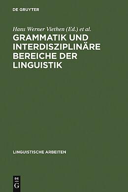 E-Book (pdf) Grammatik und interdisziplinäre Bereiche der Linguistik von