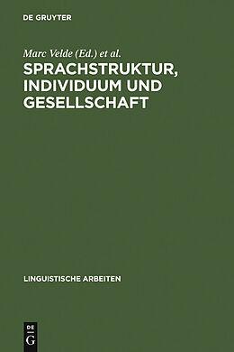 E-Book (pdf) Sprachstruktur, Individuum und Gesellschaft von
