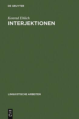 E-Book (pdf) Interjektionen von Konrad Ehlich