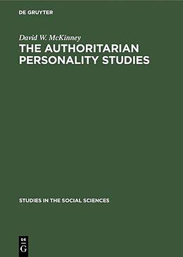 E-Book (pdf) The authoritarian personality studies von David W. Mckinney