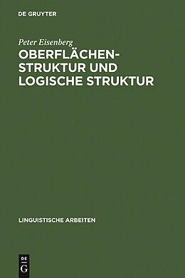 E-Book (pdf) Oberflächenstruktur und logische Struktur von Peter Eisenberg