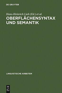 E-Book (pdf) Oberflächensyntax und Semantik von