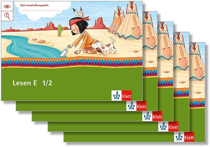 Mein Indianerheft Lesen E Arbeitsheft Klasse 12 5 Er Paket