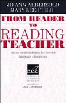 Kartonierter Einband From Reader to Reading Teacher von Jo A. Aebersold, Mary L. Field