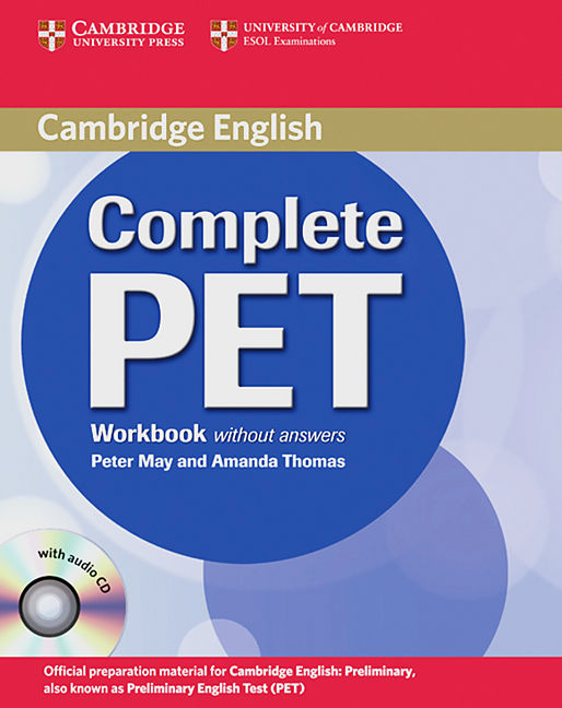 cambridge complete pet workbook with answers