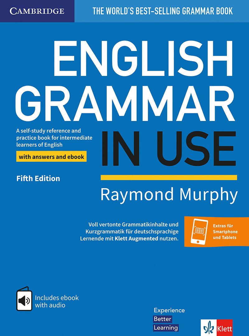 English Grammar in Use  Fifth Edition  Book with answers and interactive  ebook