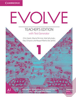 Evolve 1 (A1)  American English  Teacher's Edition with Test Generator