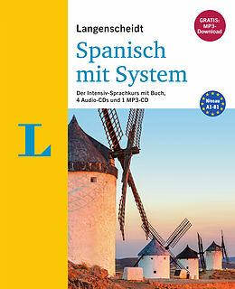 Kartonierter Einband (Kt) Langenscheidt Spanisch mit System von Elisabeth Graf-Riemann, Palmira López