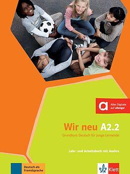 Kartonierter Einband Wir neu A2.2 von Giorgio Motta, Eva-Maria Jenkins-Krumm