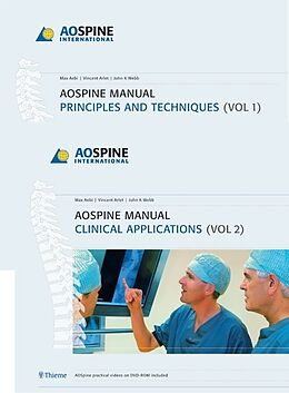 Fester Einband AO Spine Manual, 2 Vols., w. DVD-ROM von Max Aebi