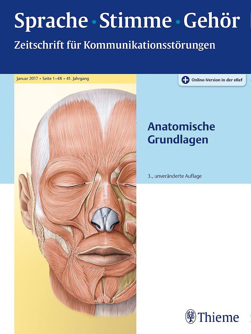 Sprache - Stimme - Gehör - Anatomische Grundlagen - - Buch kaufen ...
