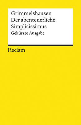 Kartonierter Einband Der abenteuerliche Simplicissimus von Hans Jacob Christoph von Grimmelshausen