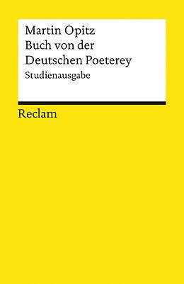 Buch von der Deutschen Poeterey [Version allemande]