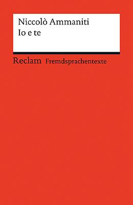 Io E Te Niccolò Ammaniti Buch Kaufen Ex Libris