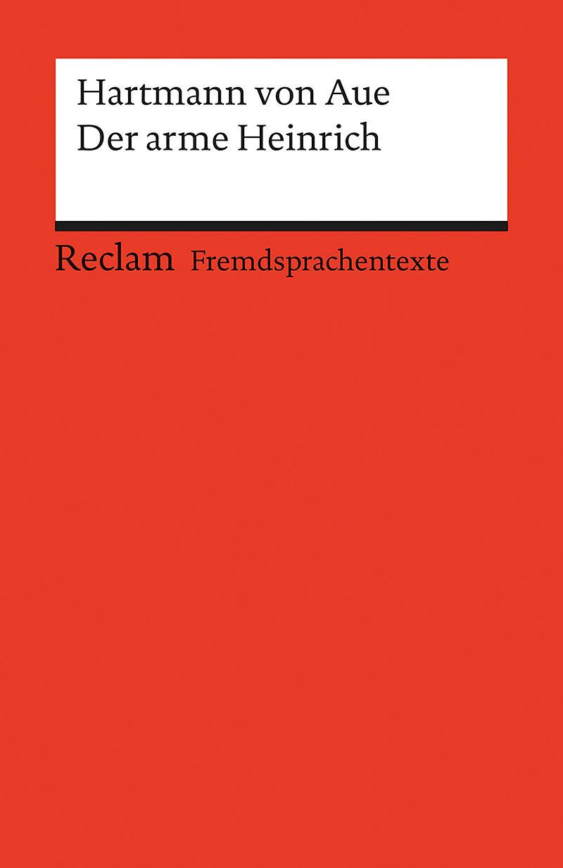Der arme Heinrich [Version allemande]
