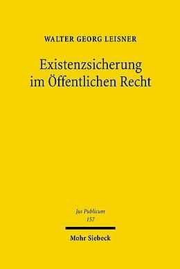 E-Book (pdf) Existenzsicherung im Öffentlichen Recht von Walter Georg Leisner