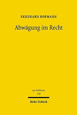 E-Book (pdf) Abwägung im Recht von Ekkehard Hofmann