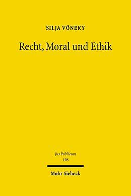 E-Book (pdf) Recht, Moral und Ethik von Silja Vöneky
