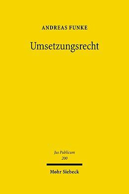 E-Book (pdf) Umsetzungsrecht von Andreas Funke