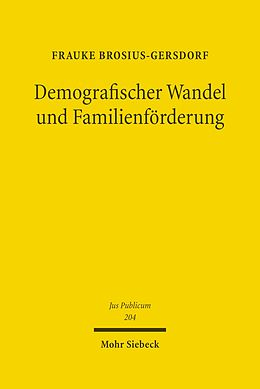E-Book (pdf) Demografischer Wandel und Familienförderung von Frauke Brosius-Gersdorf