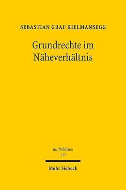 E-Book (pdf) Grundrechte im Näheverhältnis von Sebastian Graf Kielmansegg