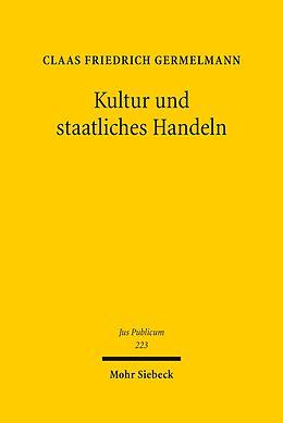 E-Book (pdf) Kultur und staatliches Handeln von Claas F. Germelmann