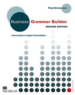 Kartonierter Einband Business Grammar Builder, w. Audio-CD von Paul Emmerson