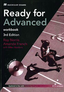 Kartonierter Einband (Kt) Ready for Advanced - Workbook without Key, w. Audio-CD von