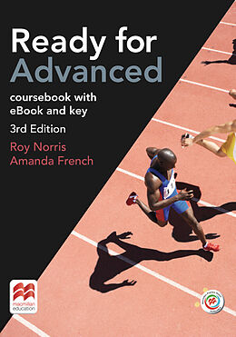 Kartonierter Einband Ready for Advanced. 3rd Edition. Student's Book Package with ebook, MPO and Key von Roy Norris, Amanda French