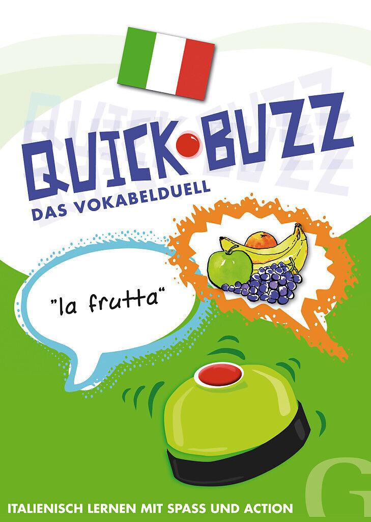 Quick Buzz Französisch lernen mit Spaß und Action NEU Das Vokabelduell