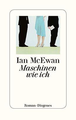 Leinen-Einband Maschinen wie ich von Ian McEwan