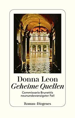 Leinen-Einband Geheime Quellen von Donna Leon
