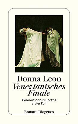 Kartonierter Einband Venezianisches Finale von Donna Leon