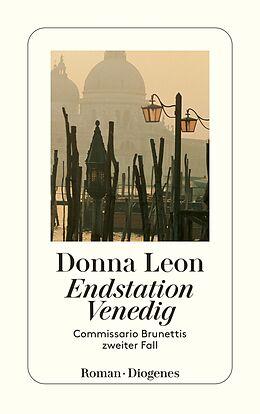 Kartonierter Einband Endstation Venedig von Donna Leon