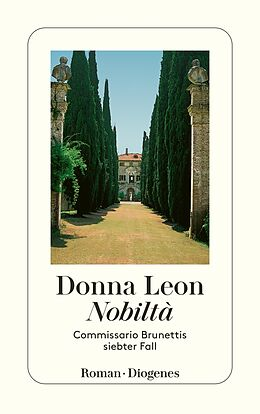 Kartonierter Einband Nobiltà von Donna Leon