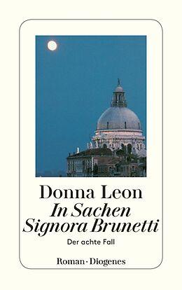 Kartonierter Einband In Sachen Signora Brunetti von Donna Leon