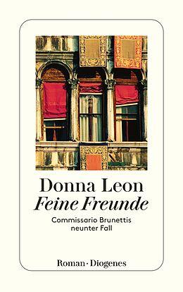 Kartonierter Einband Feine Freunde von Donna Leon