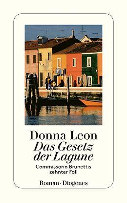 Kartonierter Einband Das Gesetz der Lagune von Donna Leon