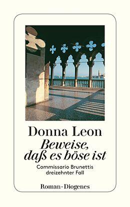 Kartonierter Einband Beweise, daß es böse ist von Donna Leon