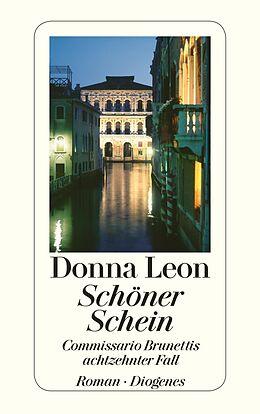 Kartonierter Einband Schöner Schein von Donna Leon