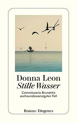 Kartonierter Einband Stille Wasser von Donna Leon