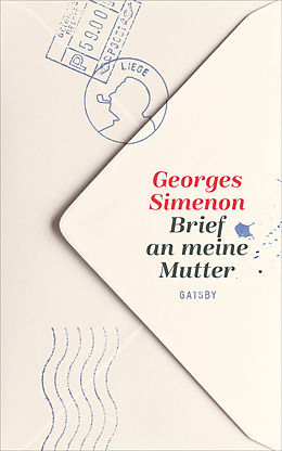 E-Book (epub) Brief an meine Mutter von Georges Simenon