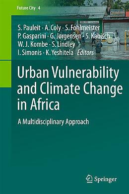 Kartonierter Einband Urban Vulnerability and Climate Change in Africa von