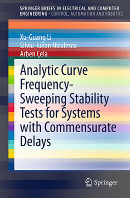 Kartonierter Einband Analytic Curve Frequency-Sweeping Stability Tests for Systems with Commensurate Delays von Xu-Guang Li, Silviu-Iulian Niculescu, Arben Cela
