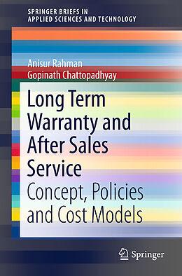 Kartonierter Einband Long Term Warranty and After Sales Service von Gopinath Chattopadhyay, Anisur Rahman