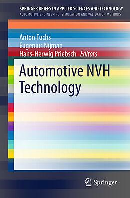 Kartonierter Einband Automotive NVH Technology von