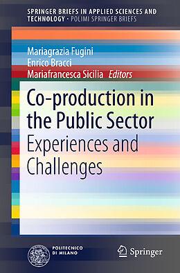 Kartonierter Einband Co-production in the Public Sector von