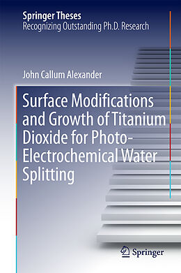 Fester Einband Surface Modifications and Growth of Titanium Dioxide for Photo-Electrochemical Water Splitting von John Alexander