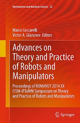 Kartonierter Einband Advances on Theory and Practice of Robots and Manipulators von