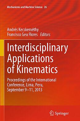 Kartonierter Einband Interdisciplinary Applications of Kinematics von